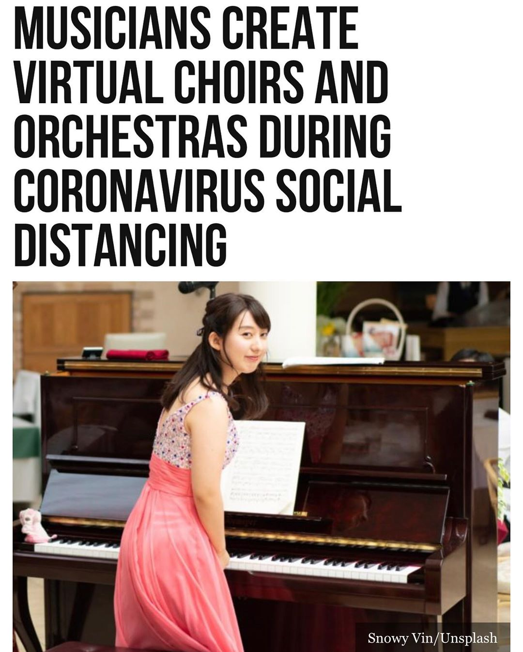 The #coronavirus #pandemic has not stifled the #music world, as choirs, orchestr…