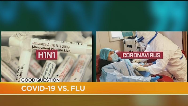Good Question: How does the coronavirus compare to the flu?